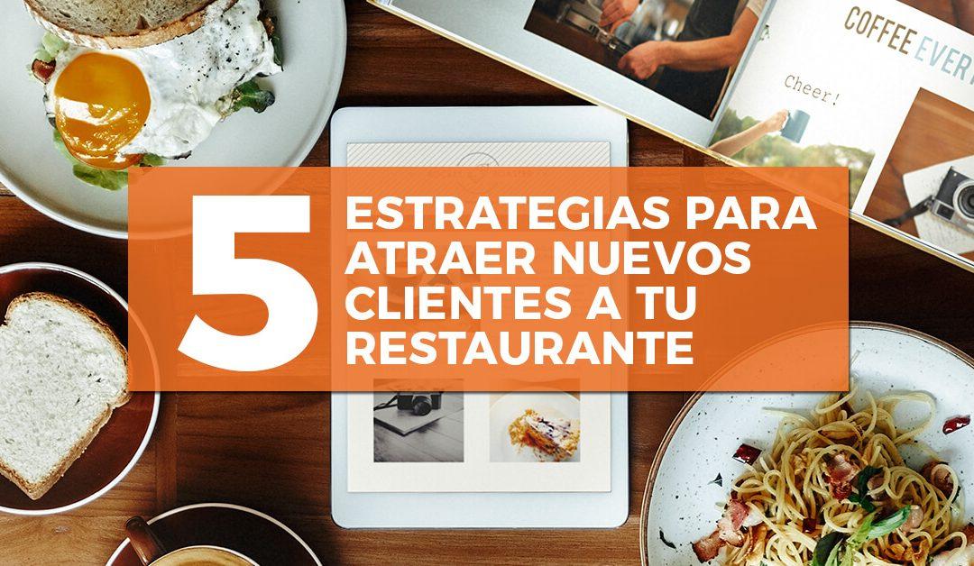 5 estrategias para atraer clientes a tu restaurante